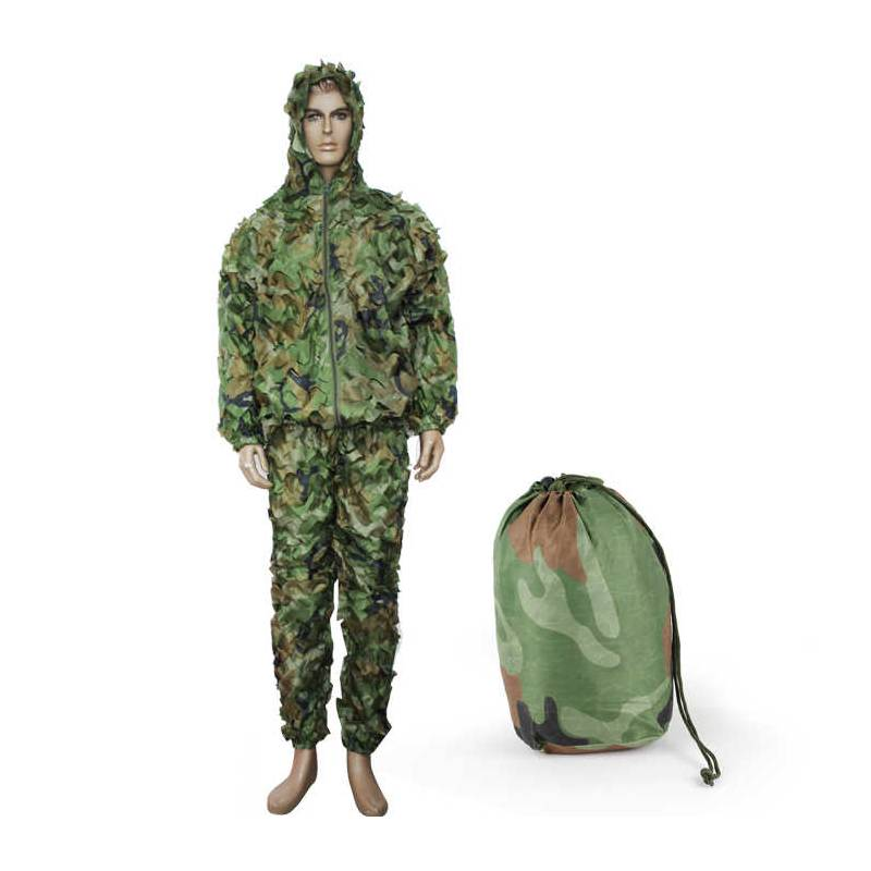 traje ghillie suit